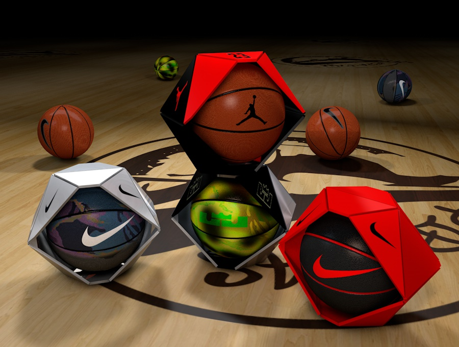 Nike Inflatables Basketball Ball Packaging