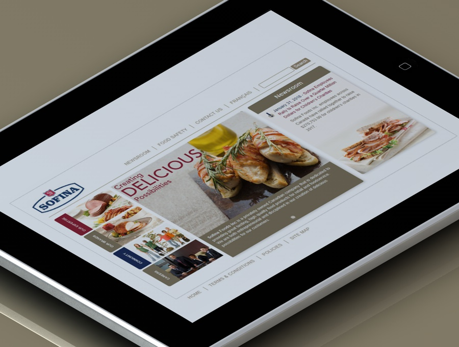 Sofina Foods Corporate website
