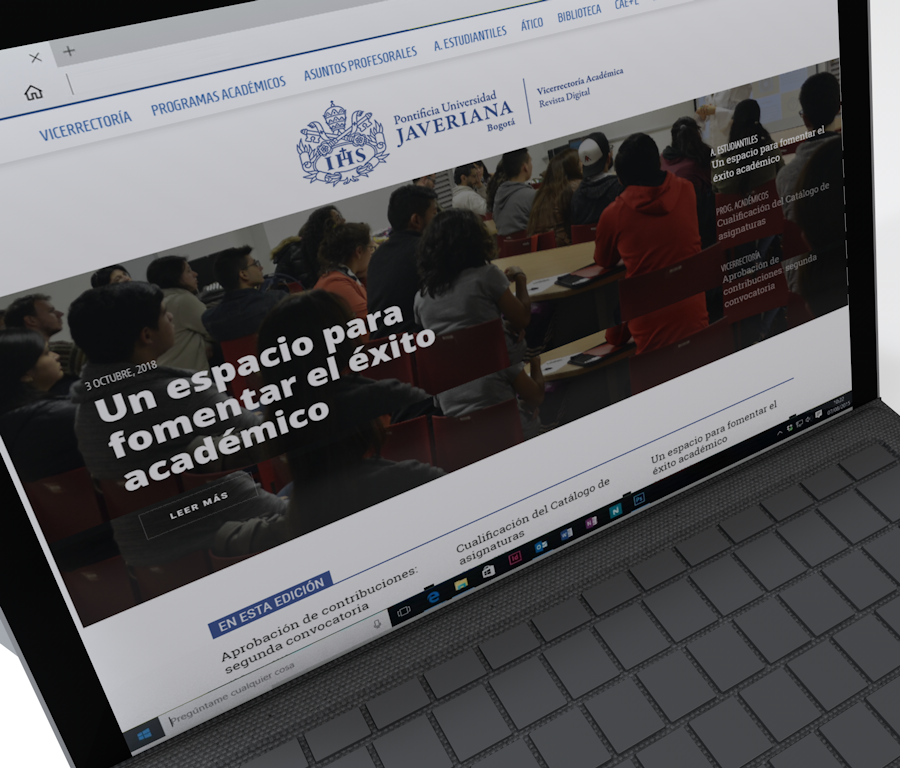 Digital Newspaper: Pontifical Xavierian University